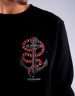 C&S WL Anchored Crewneck black/mc XL