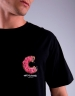 C&S WL Los Munchos Small Tee black/mc M