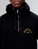 C&S WL Merch Garfield Half Zip Box Hoody black/mc L