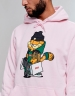 C&S WL Hyped Garfield Hoody pale pink/mc XS