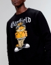 C&S WL Left Side Garfield Crewneck black/mc XL