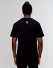 C&S WL Left Side Garfield Tee black/mc L