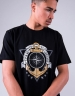 C&S WL Crew Strong Tee black/mc L