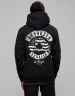 C&S WL BK Hoody black/white L