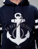 C&S WL Stay Down Hoody navy/white XS