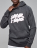 C&S WL Flash Hoody charcoal/white M