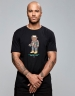 C&S WL Bedstuy Tee black/mc XL