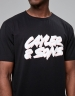 C&S WL Flash Tee black/white M