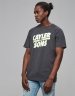 C&S WL Mr Kahle Tee charcoal/white XXL