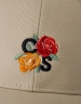 C&S WL Roses Curved Cap sand/mc one