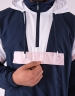 C&S WL Camingo Half Zip Windbreaker navy/white M