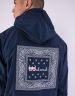 C&S WL Westcoast Half Zip Windbreaker navy/mc XL