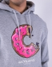 C&S WL Munchos Hoody heather grey/mc S