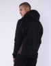 C&S WL Jay Trust Hoody black/heather grey S