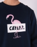 C&S WL Camingo Crewneck navy/mc XS
