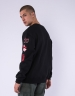 C&S WL Legend Oversized Crewneck black/heather grey XS