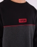 C&S WL Legend Oversized Crewneck black/heather grey M