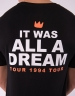 C&S WL A Dream Tour Tee black/mc M
