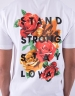 C&S WL Stand Strong Tee white/mc M