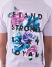 C&S WL Stand Strong Tee pale lilac/mc XL