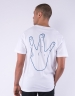 C&S WL Westcoast Tee white/mc M