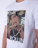 C&S WL 2PAC Rollin Tee white/mc L