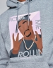 C&S WL Me Rollin' Hoody heather grey/mc L