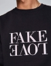 C&S WL Fake Love Crewneck black/white XXL