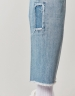 C&S ALLDD Raw Edge Denim Pants blue 3432