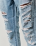 C&S ALLDD Raw Edge Denim Pants blue 2830