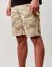 C&S ALLDD Raw Edge Denim Shorts sand 32