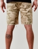 C&S ALLDD Raw Edge Denim Shorts sand 30