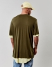 CSBL Deuces Long Layer Tee olive S