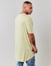 CSBL You Hear Drop Shoulder Scallop Tee yellow S