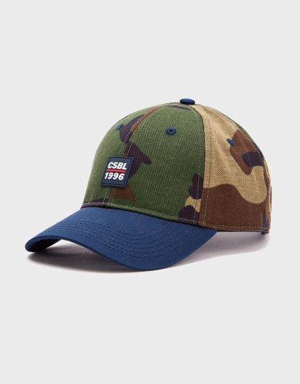 CSBL Ante Up Curved Cap woodland/navy one