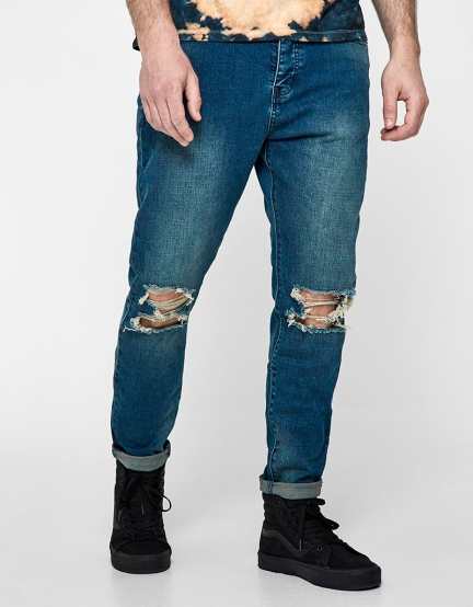ALLDD Unchained Tim Denim Pants sand washed blue 2830