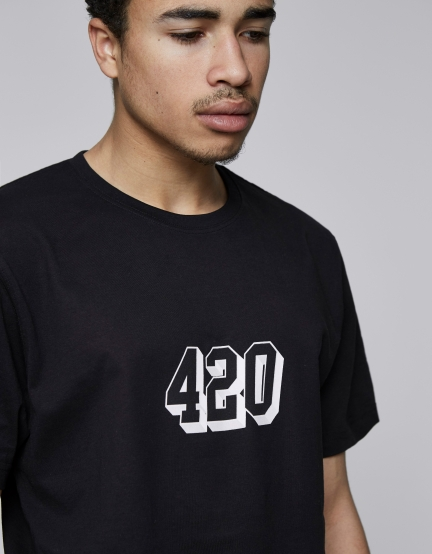 C&S Fo Twenny Tee black/white S