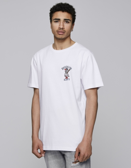 C&S BK Blunts Tee white/mc S