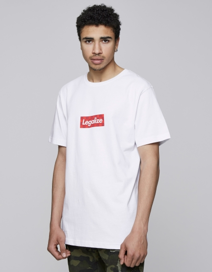 C&S Hypalize Tee white/mc S