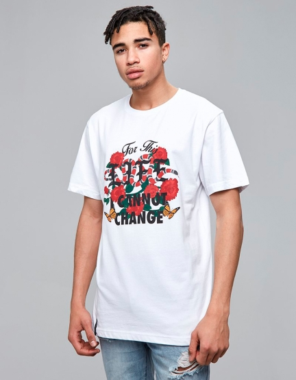 C&S This Life Tee white/mc L