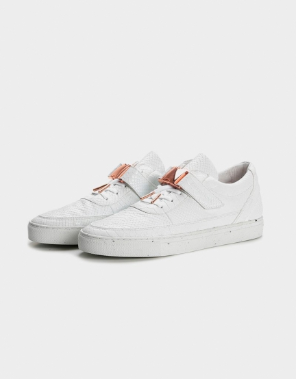 C&S CHUTORO white python/rose-gold 9,5
