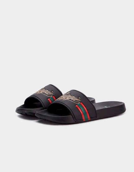 C&S WL Biggie Sandals black/mc 4
