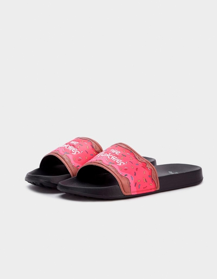 C&S WL Munchies Sandals black/mc 9