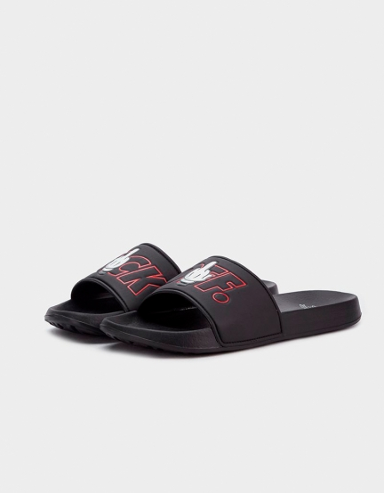 C&S WL Statement Sandals black/mc 7