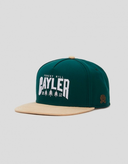C&S CL Cayler Hill Cap forest/sand one