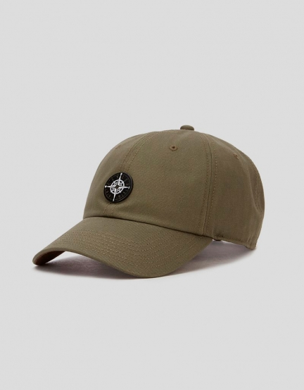 C&S CL Navigating Curved Cap olive/brown one