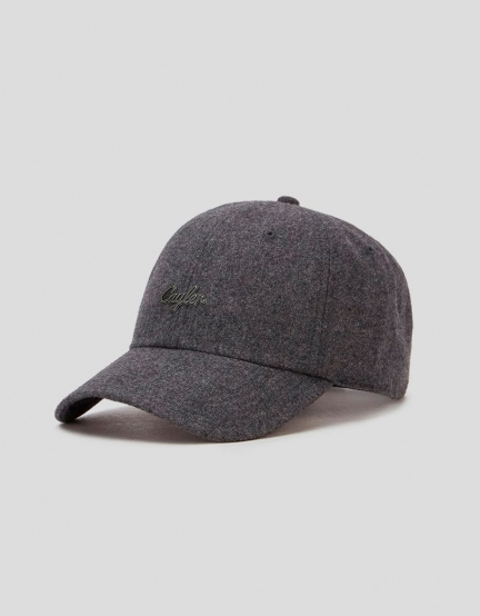 C&S CL Pinned Curved Cap heather grey/silver one