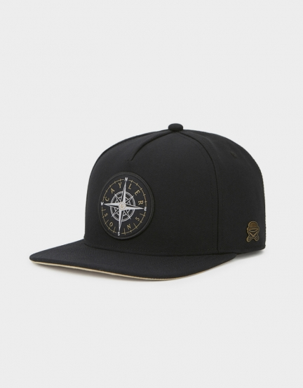 C&S CL Navigating Cap black/gold one size