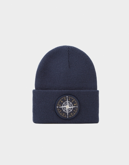 C&S CL Navigating Beanie navy/gold one size