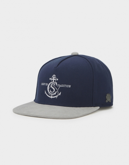 C&S CL Tradition Cap navy/grey one size